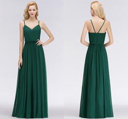 4ead1be96683 Immagine reale 2018 nuovo progettista verde smeraldo economici abiti da  damigella d onore cinghie di lunghezza del pavimento formato personalizzato  abiti da ...