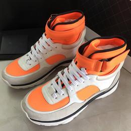 Venta al por mayor de Zapatos originales casuales nuevos de la parte superior del ante verde superior de Box New, moda caballero diseñador con cordones size35-41