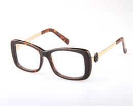 8c10a6290a49 DOWER ME Women Elegant Fashion Full Rim Acetate Rose Decoration Temple  Optical Myopia Eyewear Eyeglasses