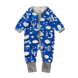 long colorful jumpsuits NZ - Hot sale Colorful Coverall Autumn Baby Cotton Long Sleeve Coveralls o-neck Baby romper children's clothes pajamas baby jumpsuits
