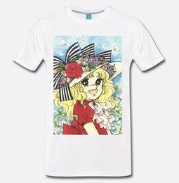 Großhandel T-SHIRT MAGLIA CANDY CANDY ANIMATO ANNI 80 - 1 - S-M-L-XL-XXL-XXXL Kurzarm Fashion Summer Printing Casual