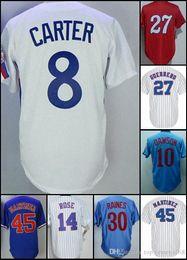 23ef4feabaf Andre Baseball NZ - Montreal Jersey Vladimir Guerrero Gary Carter Andre  Dawson Pete Rose Tim Raines