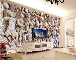 $enCountryForm.capitalKeyWord NZ - 3d wallpaper custom photo mural European style character relief tv background wall rooom home decor 3d wall murals wallpaper for walls 3 d