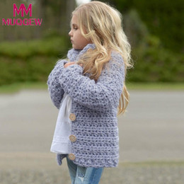 $enCountryForm.capitalKeyWord NZ - MUQGEW 2018 winter jackets for girls kids Toddler Kids Baby Girls Outfit Clothes Button Knitted Sweater Cardigan Coat Tops