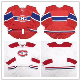 Cheap personalized hoCkey jerseys online shopping - Cheap custom MONTREAL CANADIENS ISSUED EDGE GOALIE CUT JERSEY Mens Stitched Personalized hockey Jerseys