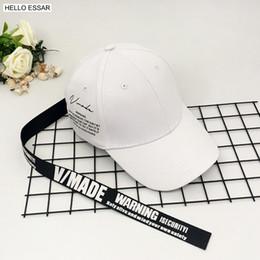 new styles man long cap 2019 - New Women Long Tail Yellow Streamer Baseball Hat Charm Long Strap Style Hot Men Best Cool Hip Hop Baseball Cap CP1048 ch