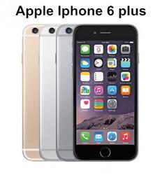 2f5e478d754 Original Apple iPhone 6 Plus Unlocked Phone 5.5 inches 16GB 64GB Dual Core  4G LTE refurbished smartphone