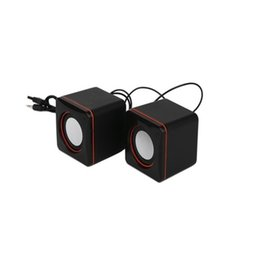 $enCountryForm.capitalKeyWord UK - Square Sound Notebook Computer Audio Desktop Small Speakers Multimedia Computer Small Audio Bass