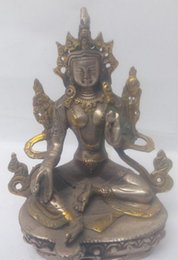 carved figures Australia - The collection!Old Chinese antiques dynasty bronze figure of Buddha