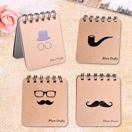 Stationery Australia - 1pc Kawaii Notebook Creative Men Style Planner Personal Diary Portable Spiral Notebook School Office Stationery Supplies