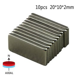 $enCountryForm.capitalKeyWord UK - 10 Pcs Big Super Rectangle Strong Large Ndfeb Magnetic Materials Neodymium N50 Magnet Block Wind