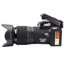 7x Optical UK - HD POLO D7100 Digital Camera 33 Million Pixels Automatic Focus Professional SLR Video Camera 24X Optical Zoom Three Lens MOQ:1pcs