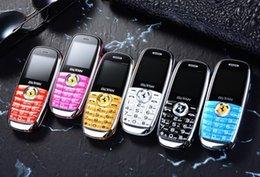 Novo telefone da barra de chocolate, mini telefone celular criança telefone, telefone QQ estudante de bolso dos desenhos animados, rei voz nova marca genuíno