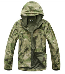 $enCountryForm.capitalKeyWord Australia - 2018 TAD Gear Tactical Softshell Camouflage Outdoors Men Army Sport Hoody Clothing Set Military Jacket s hunting clothes