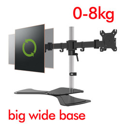 """$enCountryForm.capitalKeyWord UK - D-MOUNT DL-JD20 aircraft aluminum cold rolled steel 15""""-27"""" screen lcd tv stand monitor bracket lcd holder"""