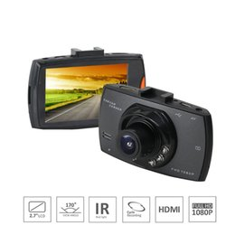 Night Vision Recording NZ - Full HD1080P Car DVR Night Vision Dash Cam 500W Camera Wide Angle Lens Cycle recording Car Recorder With 2.7inch Screen