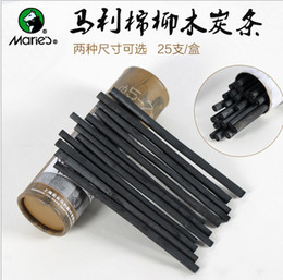 Wholesale Maries Professional carbon charcoal pencil Sketch Drawing Charcoal Bar Artist Art Supply Article ASS014