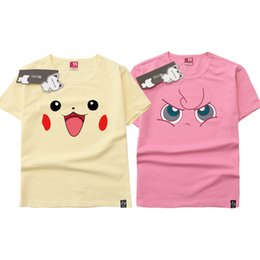 afd3520b Pocket Monsters Pikachu Jigglypuff Cosplay Costume Anime Printed O Neck Tee  Shirt Short Sleeve Men Women T-shirt