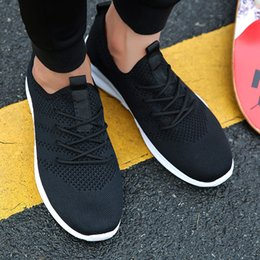 Men's Breathable Summer Shoes Australia - Spring and summer Popular Men fashion Casual Shoes Breathable Male sneakers adult Non-slip Comfortable Footwear