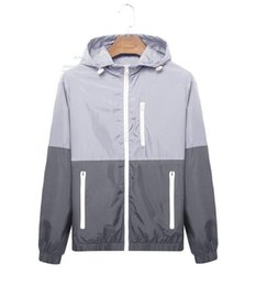 Chinese  fashion new long sleeve men jacket coat Autumn sports Outdoor plus size windrunner with zipper windcheater men clothing manufacturers