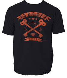 Custom Print T Shirt Cheap Australia - FOREVER FREE t shirt RETRO VINTAGE DESIGN mens t-shirt tee S-3XL 2018 hot tees custom printed tshirt free shipping cheap tee