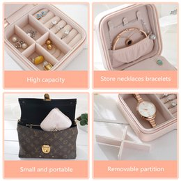 $enCountryForm.capitalKeyWord Australia - Portable han edition jewelry jewelry box small princess European travel bag ring earrings boxes, boxes