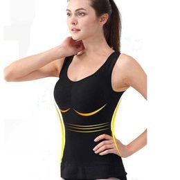 fda5392ae80 Women Corset Body Shaper Slim Bra Tank Top Chest Pad Removable Shaper  Underwear Slimming Vest Shapewear Waist Trainer Butt Lifter
