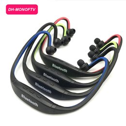 Iphone Stereo Player Australia - S9 Stereo Headset Sports Bluetooth Speaker Headset Wireless Neckband Headphones In Ear Earphone Hifi Music Player For iPhone 6 Plus Note 4