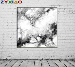 life size pictures Australia - ZYXIAO Big Size Posters and Prints abstract Pigment color Oil Painting Canvas No Frame Wall Pictures for Living Room Home Decoration ys0076