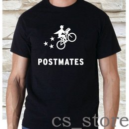 4132fa47766e POSTMATES Amazon Flex Logo Black White T-Shirt Size S-3XL Cool Casual pride t  shirt men Unisex Fashion tshirt