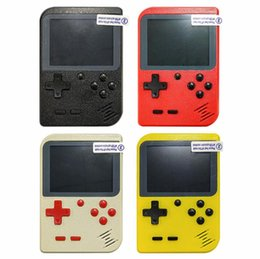 Player inch lcd online shopping - 400 in Mini Handheld Game Console Portable Retro bit FC MODEL FOR FC AV GAMES Color LCD Game Player For FC Game