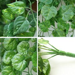 Ivy plastIc online shopping - Plastic Artificial Ivy Flower Garland Vine Fake Scindapsus Hanging Plants For Home Garden Decor