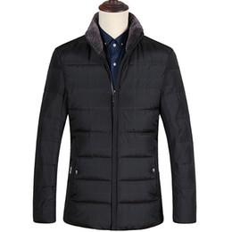 c3813d0e5 KOLMAKOV 2017 nuevo invierno de alta calidad de los hombres empalmados  cuello de piel clásico plaid down jacket, 80% pato blanco abrigos parkas  hombres.