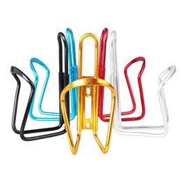 Porte-bouteilles de bicyclette en aluminium Cages Rack Accessoires de sports de plein air Dureté forte Équipement de cyclisme durable en Solde