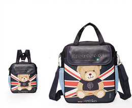 Red Messenger Bag For School Canada - POESECHR School Boy Girl Messenger Bag for Cartoon Schoolbag Teenagers Travel Bookbag and Children Shoulder Bags
