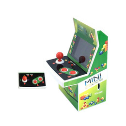 handheld pocket games 2018 - 2018 Hot Selling Mini Retro Handheld Pocket Arcade Video Games Console Joystick Player Gift Package DHL Free Shipping di