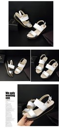 Thick Sole Sandals Canada - Top 2018 Summer White New fish Mouth thick-soled Platform Sandals female students leather slope anti-skid waterproof stage shaking shoes