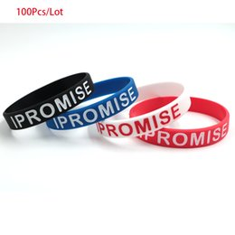wristbands james bracelet NZ - 100pcs lot I Promise Bracelet LeBron James silicone Wristband Unisex Sports Basketball outfit believe motivational silicone wristbands