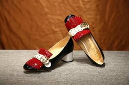 $enCountryForm.capitalKeyWord Australia - 2019 Cow patent leather rivet single heel 6101 Women Boot Riding Rain BOOTS BOOTIES SNEAKERS High heels Lolita PUMPS Dress Shoes