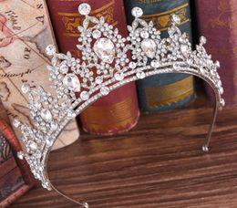 $enCountryForm.capitalKeyWord NZ - Korean bridal hair ornaments, crown alloy, Diamond Beads, crystal beads, bride handmade crown ornaments