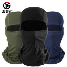 camouflage paintball 2019 - Multicam Camouflage MultiCam Black Balaclava Windproof Breathable Paintball Full Face Mask Bicycle Tactical Hats Helmet