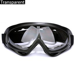 mirrored ski goggles Canada - Outdoor Style Mirror Cycling Motorcycle Sport Goggles X400 Anti-wind Sand Fans Tactical Equipment Ski Goggles A4794