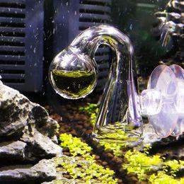 Aquarium Co2 NZ - Fish Tank Water Live Moss Plant Aquarium Notes Glass CO2 Drop Checker Carbon Dioxide PH Ball Long Term Indicator Monitor Tester
