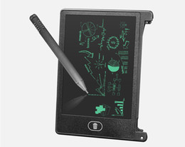 child tablets UK - Drawing Toys LCD Writing Digital Tablet Electronic Paperless LCD Handwriting Pad Kids Writing Board Children Gifts E-Writing