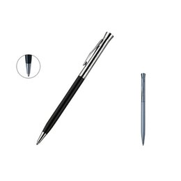 $enCountryForm.capitalKeyWord Australia - Fantastic writing long pen fashion pocket pen silver top with black body best gift for students and teachers free shipping