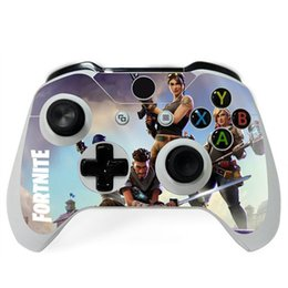 XboX one gamepad online shopping - DIY Game Sticker Fortnite For Microsoft Xbox One S Controller Decal Skins For Xbox One Gamepad Cover For Xbox One Joypad Customization
