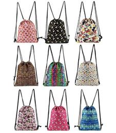$enCountryForm.capitalKeyWord Canada - 18 Styles 35*45cm Unicorn Emoji Drawstring Bag Backpack 3D Printed Drawstring Backpack Student Schoolbag Travel Rucksack Bag CCA9813 20pcs