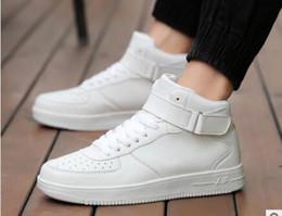 34479ed9 Zapatos casuales de cuero nuevos de primavera Zapatos casuales de tenis  negros con cordones de tacón alto Zapatos atléticos de entrenamiento de  hombre y ...