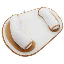Baby Flat Back UK - Infant Flat Head Baby Pillow Back Waist Support Anti Roll Baby Pillow Prevent Flat Head Cushion For
