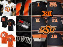 $enCountryForm.capitalKeyWord NZ - Custom Oklahoma State Cowboys Any Name Number Mens Youth Kids Womens White Orange Black College Personalized Football Jerseys S-3XL